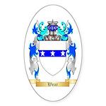 Wear Sticker (Oval 10 pk)