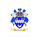 Weall Sticker (Rectangle 50 pk)