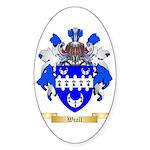 Weall Sticker (Oval)