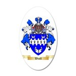 Weall 20x12 Oval Wall Decal
