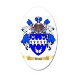 Weall 35x21 Oval Wall Decal