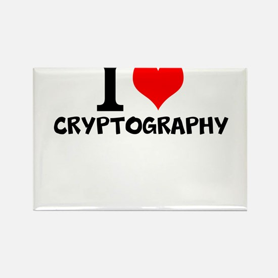 I Love Cryptography Magnets