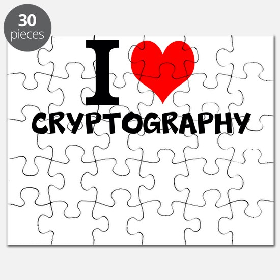 I Love Cryptography Puzzle