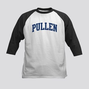PULLEN design (blue) Kids Baseball Jersey