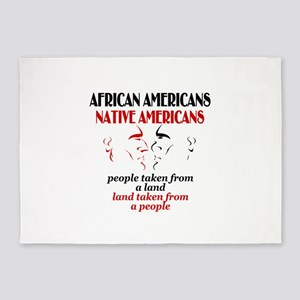 African American 5'x7'Area Rug