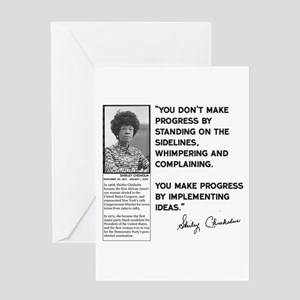 Shirley Chisholm Greeting Cards