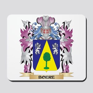 Boere Coat of Arms (Family Crest) Mousepad