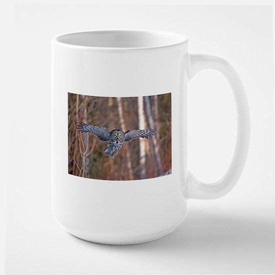 Gray Owl silent flight Mugs