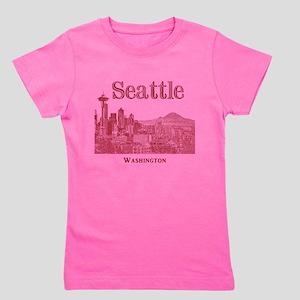 Seattle Girl's Tee