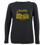 Seattle Plus Size Long Sleeve Tee