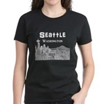 Seattle Women's Dark T-Shirt