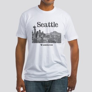 Seattle Fitted T-Shirt