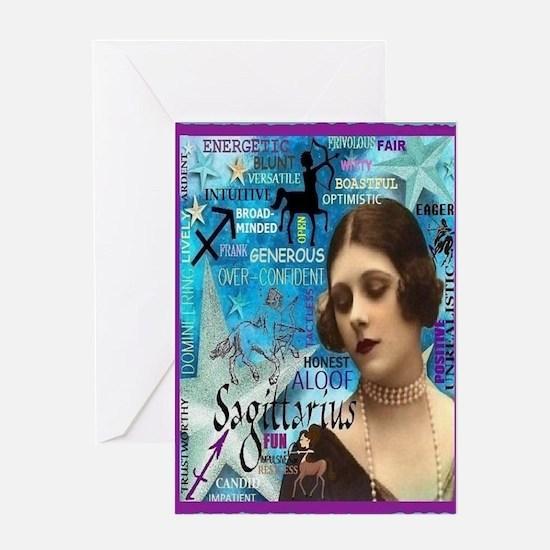 Sagittarius Card Greeting Cards