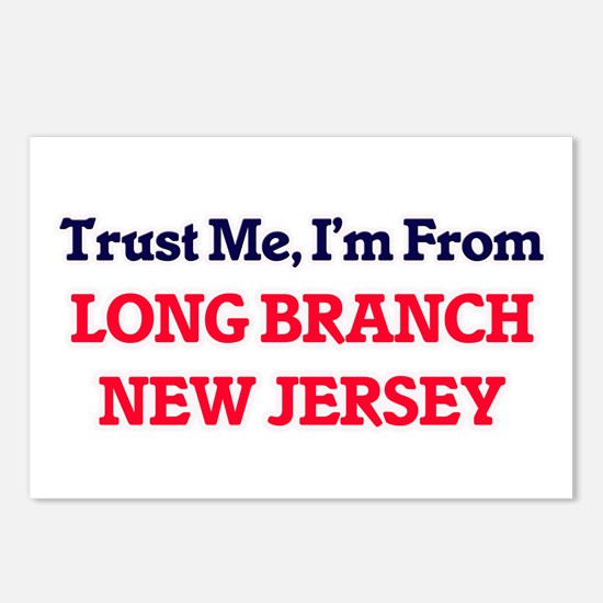 Trust Me, I'm from Long B Postcards (Package of 8)