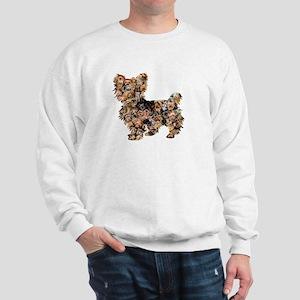 Too Many Yorkies Sweatshirt
