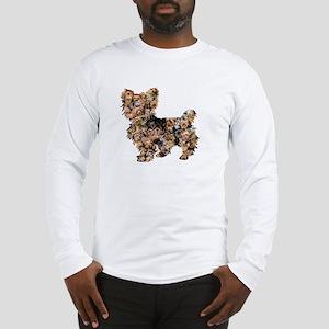 Too Many Yorkies Long Sleeve T-Shirt