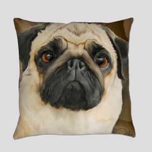 Pug-What! Everyday Pillow