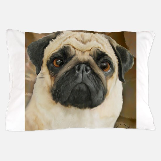 Pug-What! Pillow Case