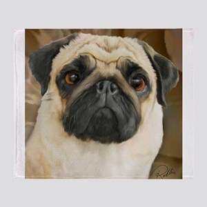 Pug-What! Throw Blanket