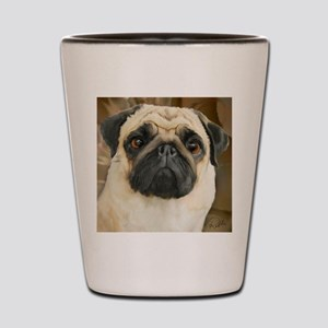 Pug-What! Shot Glass