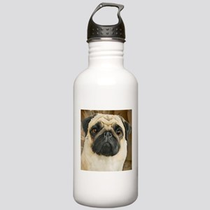 Pug-What! Water Bottle