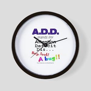 ADD BUG Wall Clock