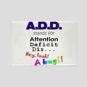 ADD BUG Rectangle Magnet
