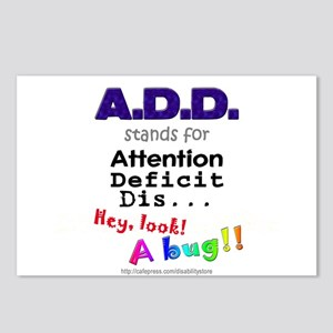 ADD BUG Postcards (Package of 8)