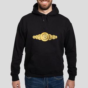 Bitcoin Logo Symbol Design Icons Sweatshirt