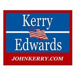 KERRY-EDWARDS Small Poster