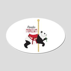 Panda-Monium Wall Decal