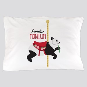 Panda-Monium Pillow Case