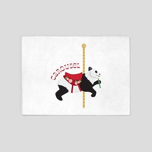 Panda Carousel 5'x7'Area Rug
