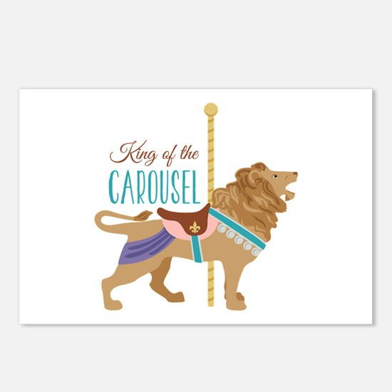 Carousel King Postcards (Package of 8)