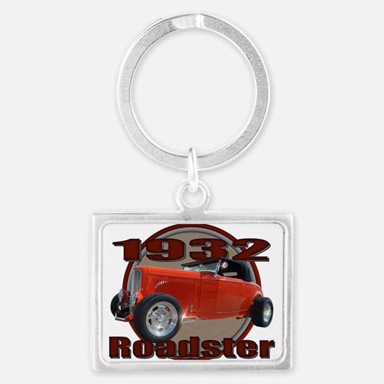 sweet 32 ford red Keychains