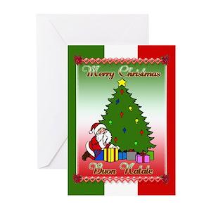 Italian christmas greeting cards cafepress m4hsunfo