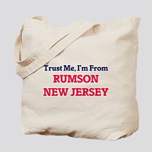 Trust Me, I'm from Rumson New Jersey Tote Bag
