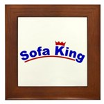 Sofa King Framed Tile