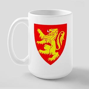 Rampant Lion.. Large Mug