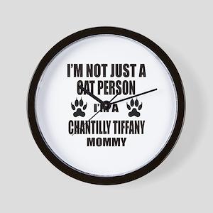 I'm a Chantilly Tiffany Mommy Wall Clock