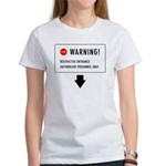 Restricted Entrance (Front) Women's T-Shirt