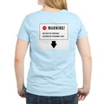 Restricted Entrance (Back) Women's Light T-Shirt