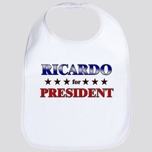 RICARDO for president Bib