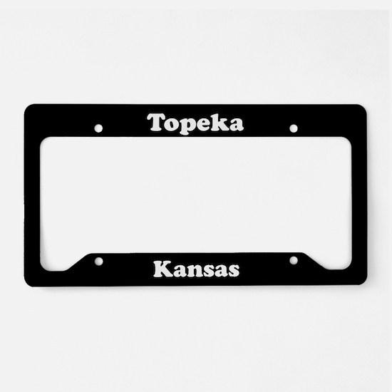 Topeka KS License Plate Holder
