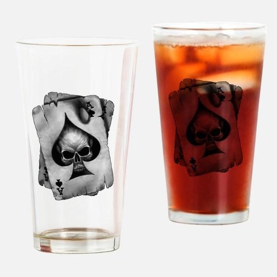 Cute Spade Drinking Glass