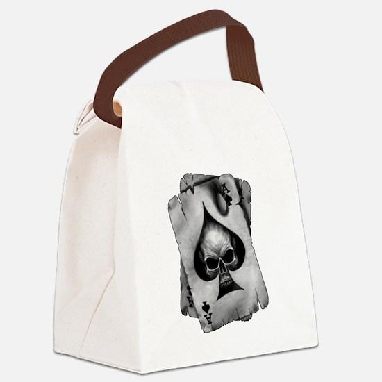 Unique Poker Canvas Lunch Bag