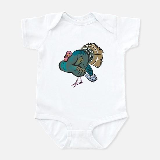 Pretty Wild Turkey Infant Bodysuit