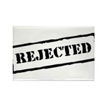 Rejected Rectangle Magnet (100 pack)