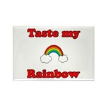Taste My Rainbow Rectangle Magnet (10 pack)