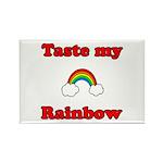 Taste My Rainbow Rectangle Magnet (100 pack)